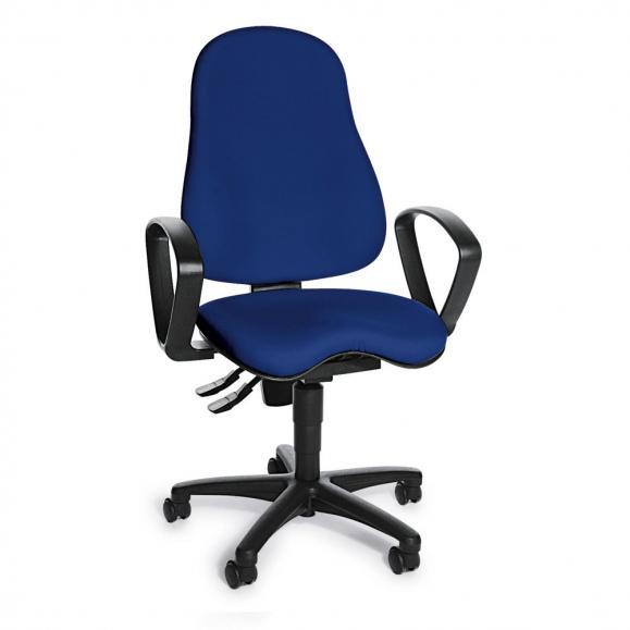 Bürodrehstuhl SITNESS 30 inkl. Armlehnen Blau