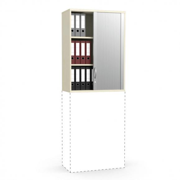 Rollladen-Aufsatzschrank PROFI MODUL Ahorndekor | 800 | 1110 mm (3 OH)
