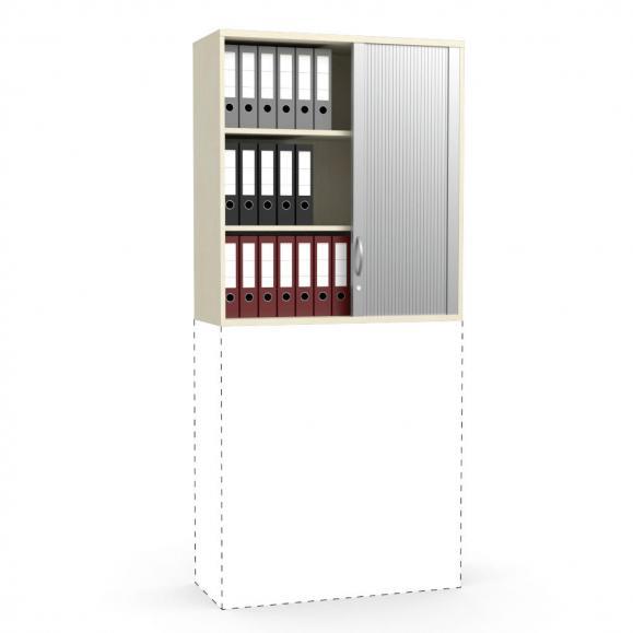 Rollladen-Aufsatzschrank PROFI MODUL Ahorndekor | 1000 | 1110 mm (3 OH)