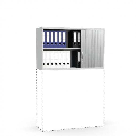 Rollladen-Aufsatzschrank PROFI MODUL Lichtgrau | 1200 | 750 mm (2 OH)