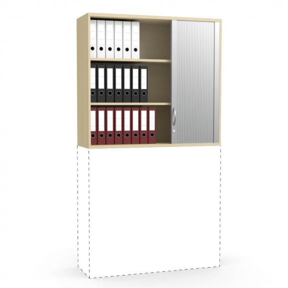 Rollladen-Aufsatzschrank PROFI MODUL Buchedekor | 1200 | 1110 mm (3 OH)