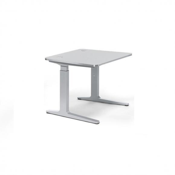 Schreibtisch iMODUL Lichtgrau | 800 | Quadrat