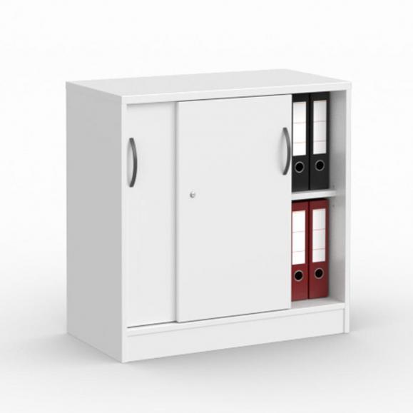 Schiebetürenschrank MULTI MODUL Weiß   800   ohne Garderobe   805 mm (2 OH)