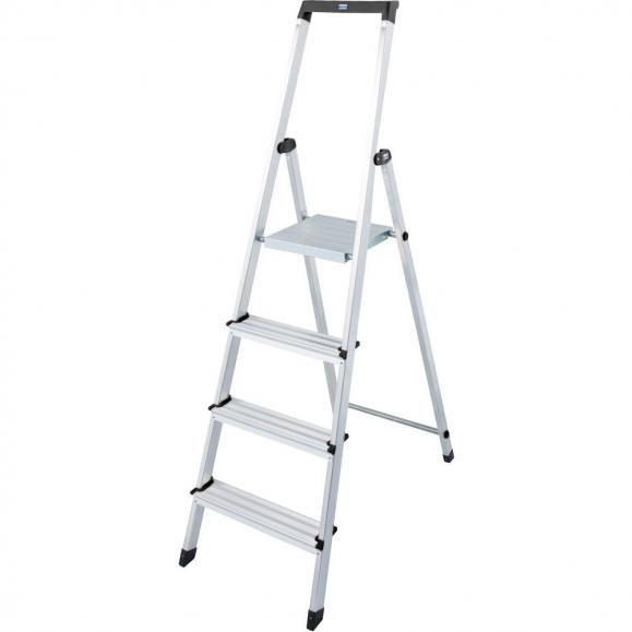 Stufenleiter mit Sicherheitsbügel 4 Stufen