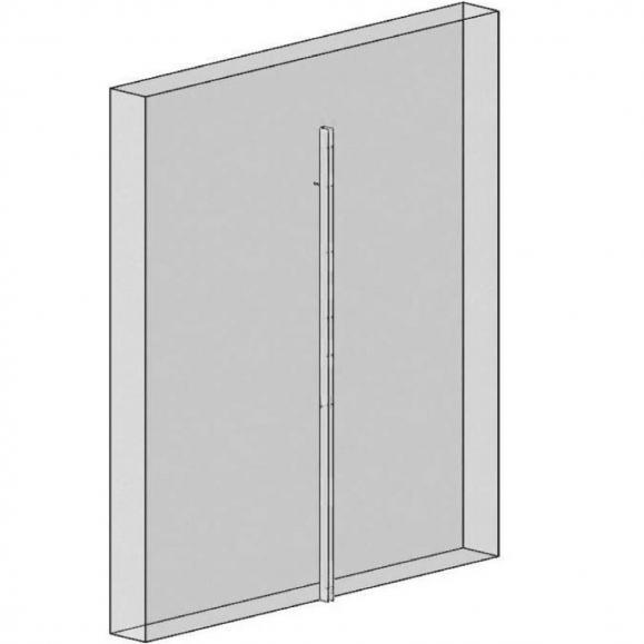 Wandverbindung für Gitterwand-Elemente