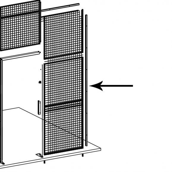 Abschluss-Rohr 25x15, Endstück oder für Zuschnitt