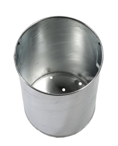 Einsatzbehälter für runden Abfallbehälter