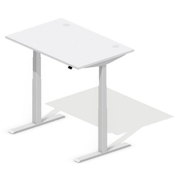 Sitz-/Stehschreibtische COMFORT MODUL Lichtgrau | 1200