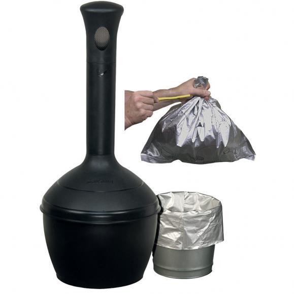 Abfallsäcke für Sicherheits-Standascher