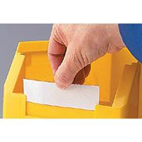 Etiketten für Lagersichtkasten Größe 2