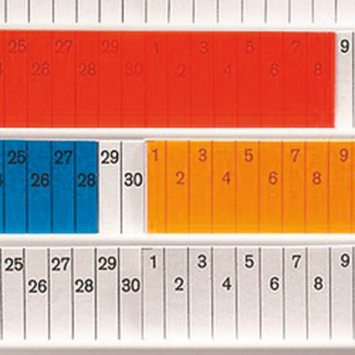 Planungstafel Starterset für-Einstecktafeln