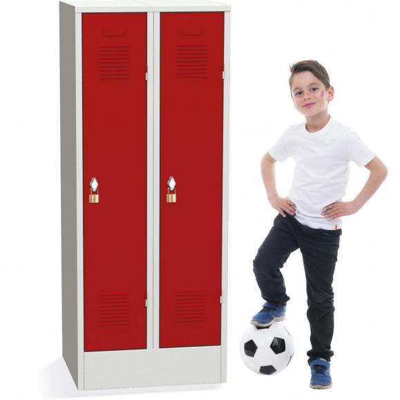 Garderobenspinde für Kindergärten und Grundschulen