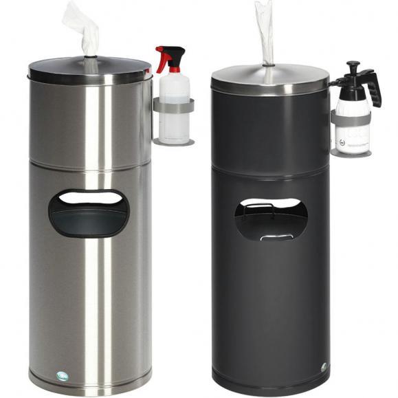 Desinfektionsstation mit Flaschenhalter