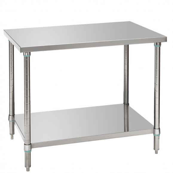 Arbeitstisch mit Zwischenboden 1000