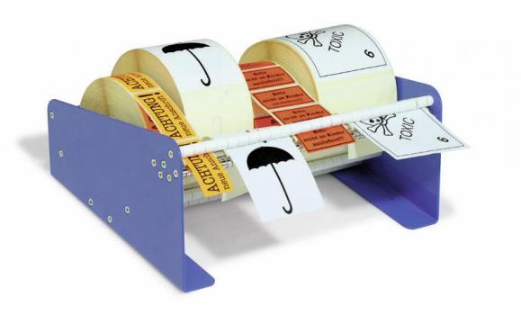 Tisch-Etikettenspender