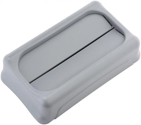 Schwingdeckel Polyethylen,grau