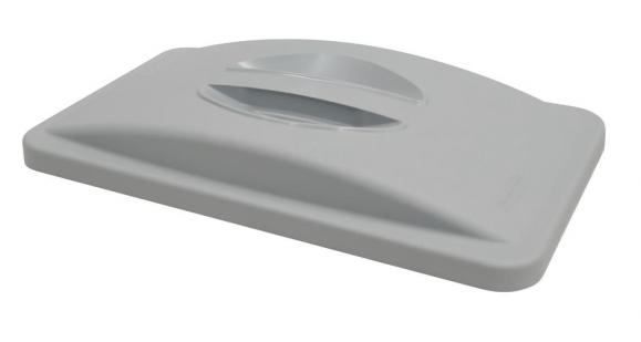Deckel mit Griff Polyethylen, grau