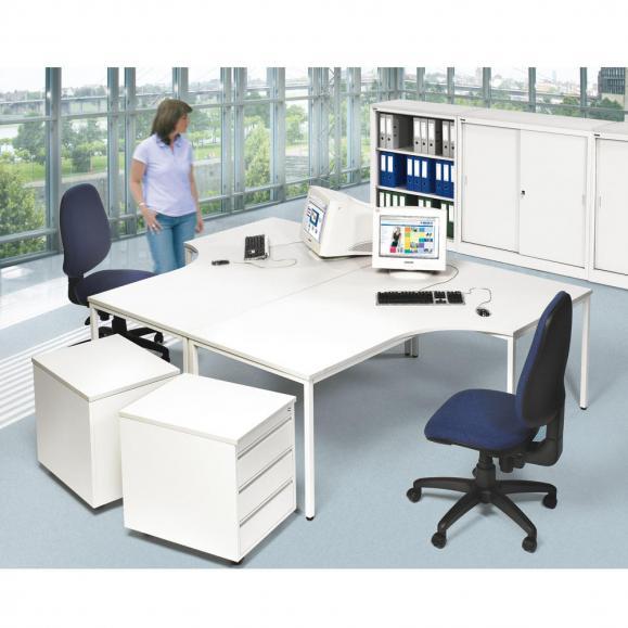Freiform Schreibtisch BASE LINE