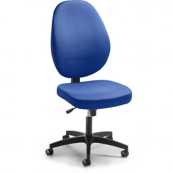 Bürodrehstuhl LONDA DV ohne Armlehnen Blau