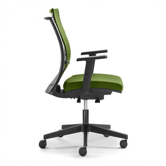 Bürodrehstuhl FlexPRO ohne Armlehnen Grün