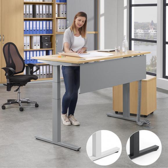 Sitz-/ Stehschreibtisch PROFI MODUL - Höhe 650 - 1250 mm