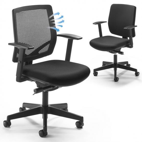 Bürodrehstuhl LUCA mit Armlehnen