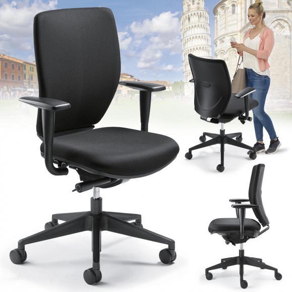 Bürodrehstuhl PISA - Synchron-Mechanik