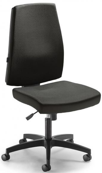 Bürodrehstuhl KAPA DV ohne Armlehnen Schwarz