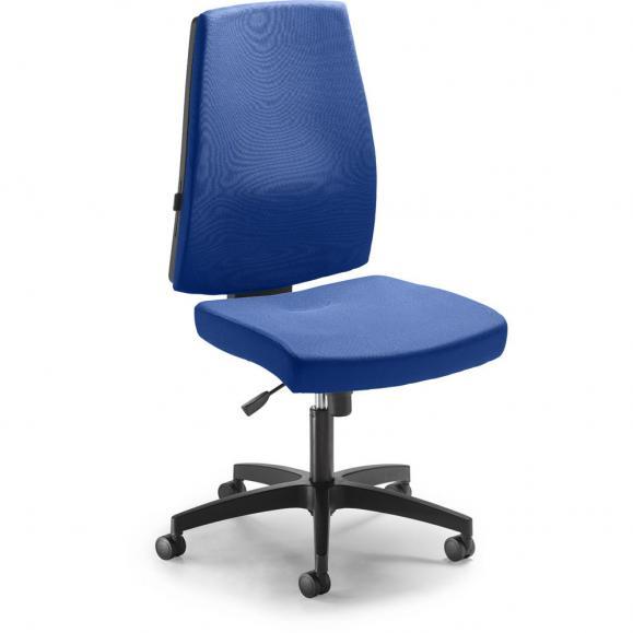 Bürodrehstuhl KAPA DV ohne Armlehnen Blau