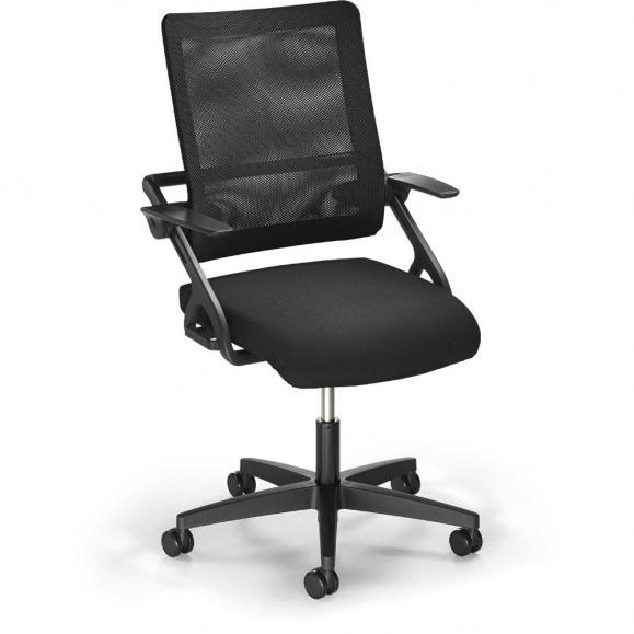 Bürodrehstuhl SITNESS 60-3D NET inkl. Armlehnen Schwarz