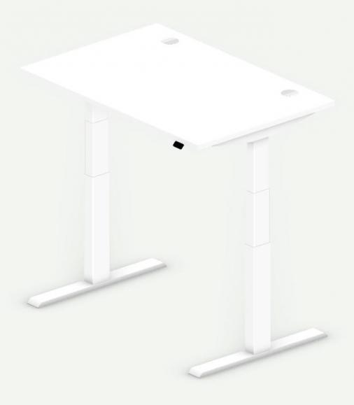 Sitz-/Stehtisch Comfort PROFI MODUL Weiß | 1200 | Weiß RAL 9016