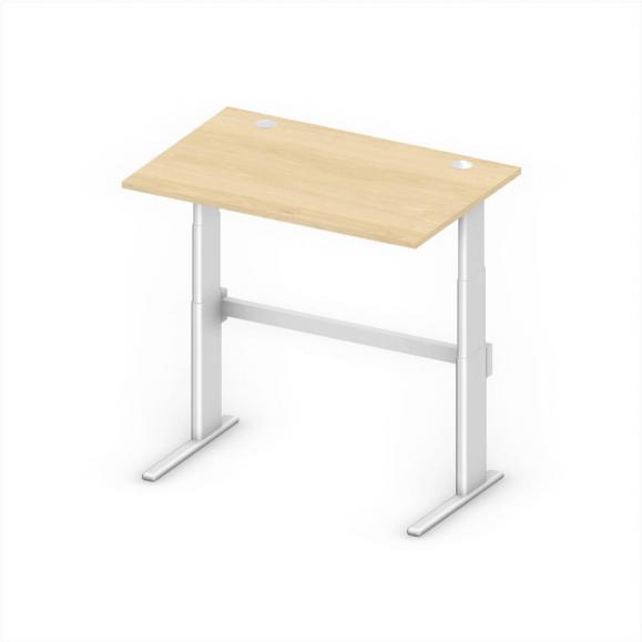 Sitz-/Stehtisch Comfort MULTI MODUL Buchedekor | 1200 | 800 | Rechteck