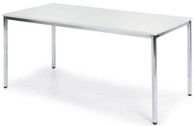 Konferenztisch BASE-MODUL Weiß | 1400 | 700 | Rechteck