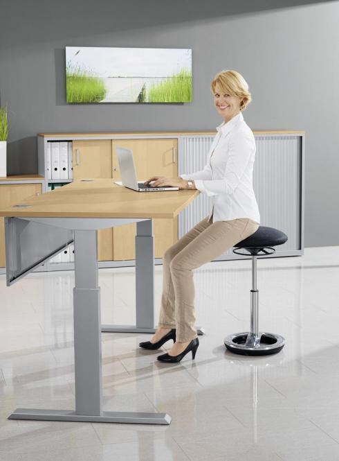 Sitz-/Stehschreibtische BASIC MODUL