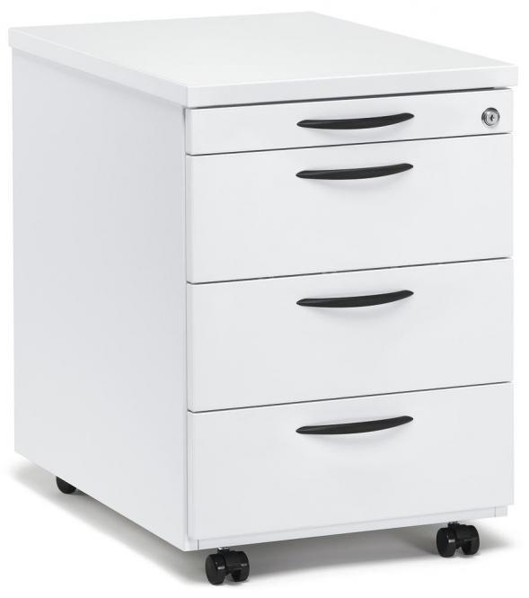 Rollcontainer MULTI MODUL Weiß | 800 | mit Schubladen
