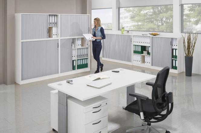SET-Angebot Einzelarbeitsplatz MULTI MODUL Weiß