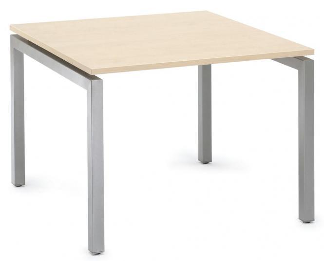 Schreibtisch 4-Fuß Comfort MULTI MODUL Ahorndekor   800