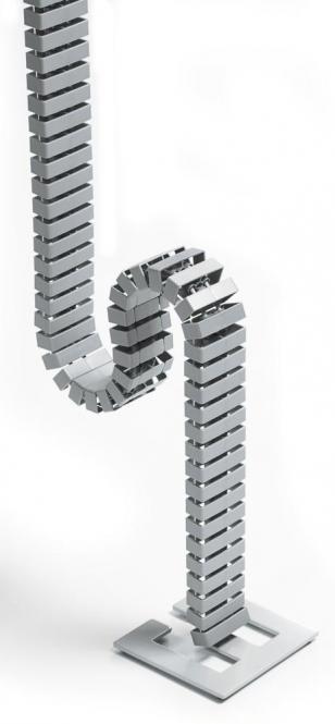 Kabelkette Alusilber