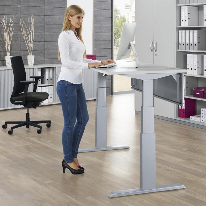 Sitz-/Stehschreibtische COMFORT PROFI MODUL