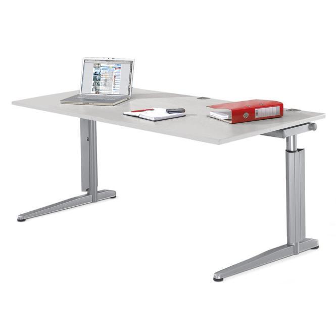 Schreibtisch T-Fuß PROFI MODUL Weiß | 1200