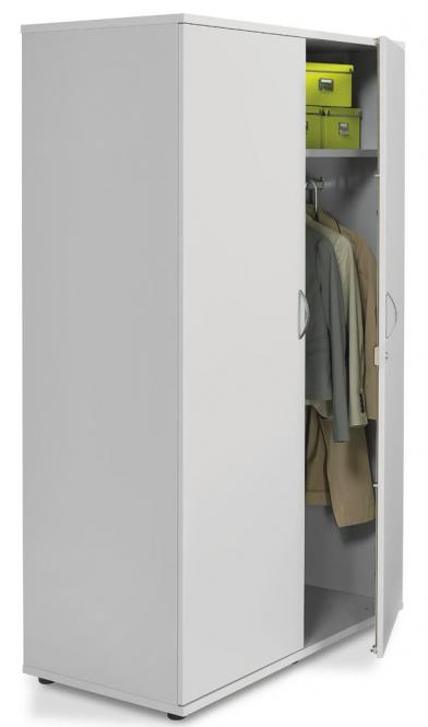 XXL-Garderobenschrank PROFI MODUL 800 | Lichtgrau | 1890 mm (1 OH)