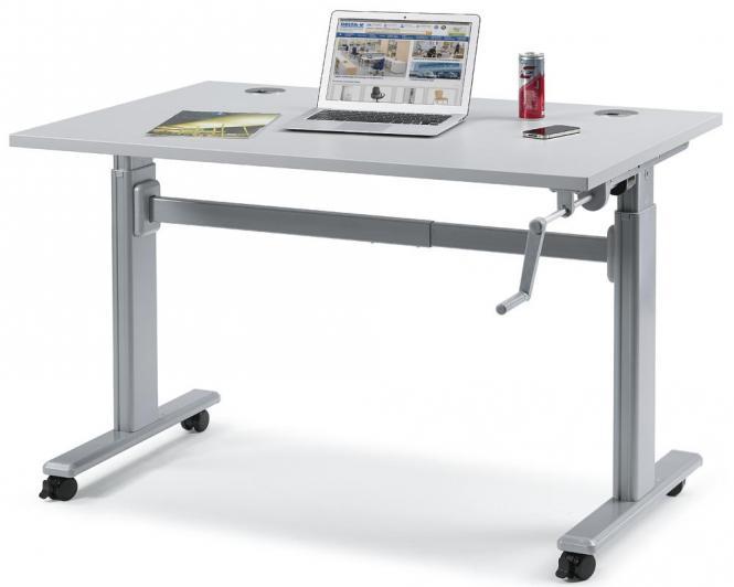 Sitz-/Stehtisch WS PROFI SYSTEM mit Kurbel 1200 | 25