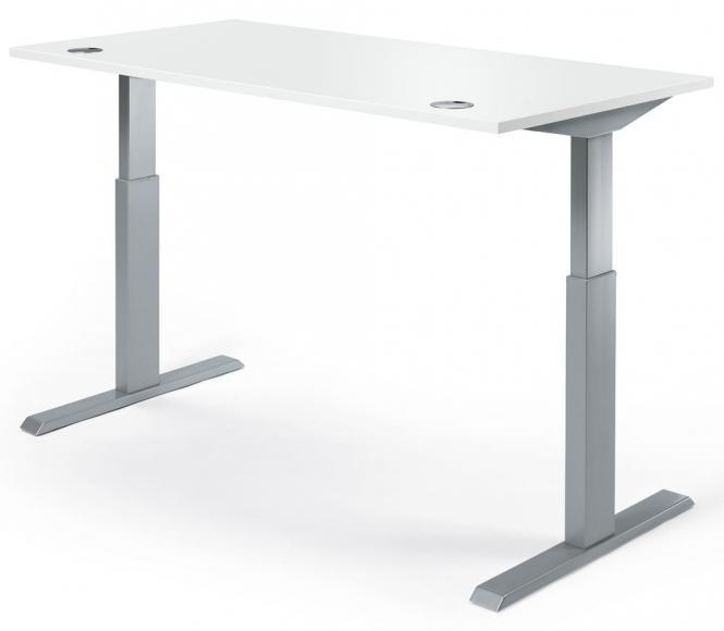 Sitz-/Stehtisch BASIC PROFI MODUL Weiß   1200