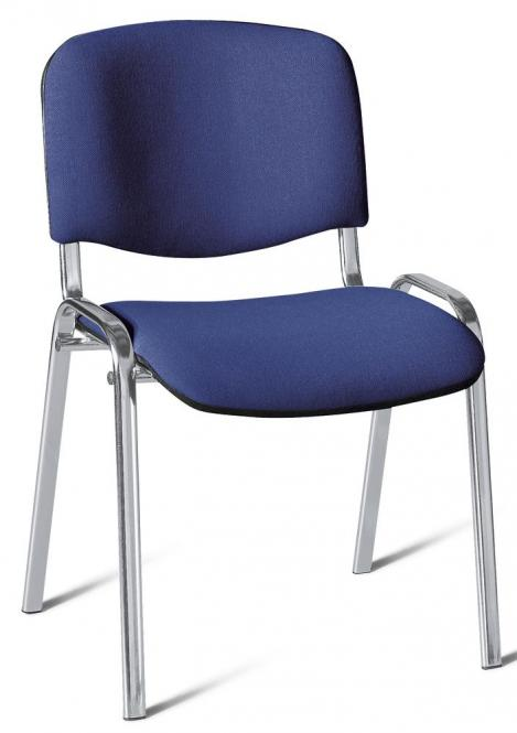 Besucherstuhl ISO Blau