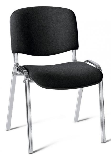 Besucherstuhl ISO Schwarz