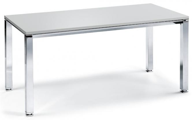 Konferenztisch DELUXE Lichtgrau | 1600 | 1600