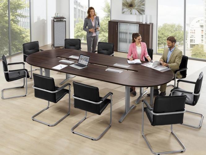 Konferenztisch OVO - extra lang bis 5500 mm
