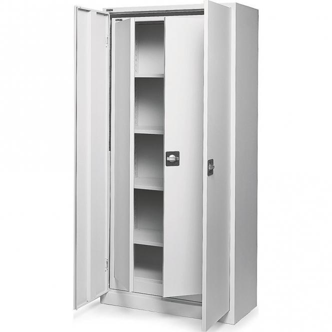 Top Angebot, SET 2 Büro-Stahlschränke mit Flügeltüren