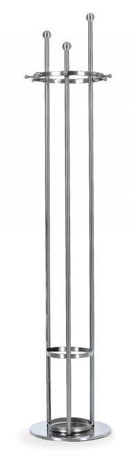 Edelstahl-Garderobenständer TRI, Schirmständer