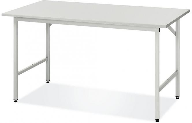 Arbeitstisch SYSTEM VK3060, Tischgestell 1 1250 | 800 | Grundtisch | Stahlblechbelag-Platte